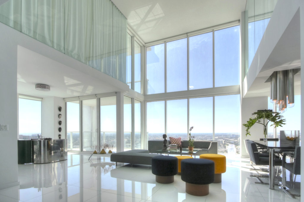 LUXURY TRI-PLEX PENTHOUSE PERFORMING ARTS CENTER - MIAMI | Interior designer Kevin Gray | Kevin Gray Design