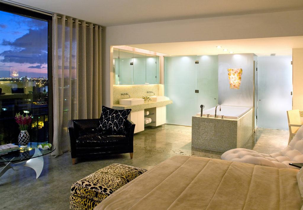 En suite of Interior designer Kevin Gray's condo| Kevin Gray Design