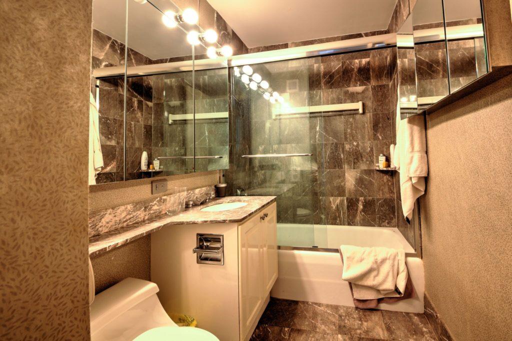 Bath BEFORE UES condo conversion | Kevin Gray Design