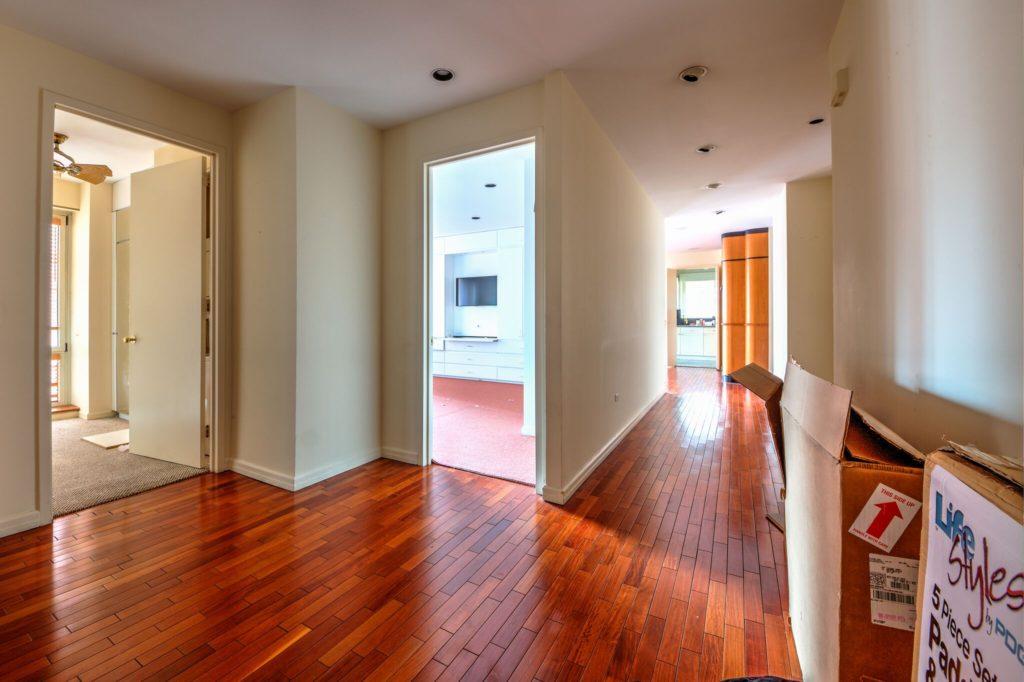 Hallway BEFORE UES condo conversion | Kevin Gray Design
