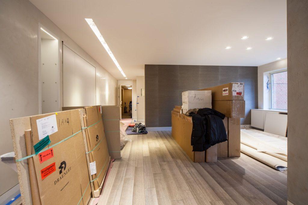 Hallway MOVEIN UES condo conversion | Kevin Gray Design
