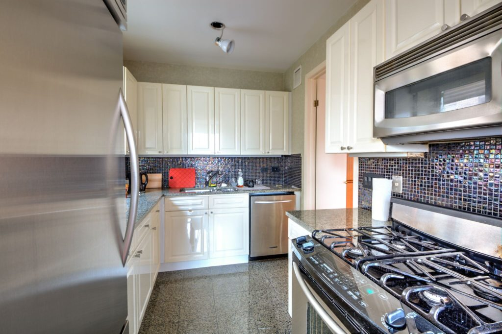 Kitchen BEFORE UES condo conversion | Kevin Gray Design