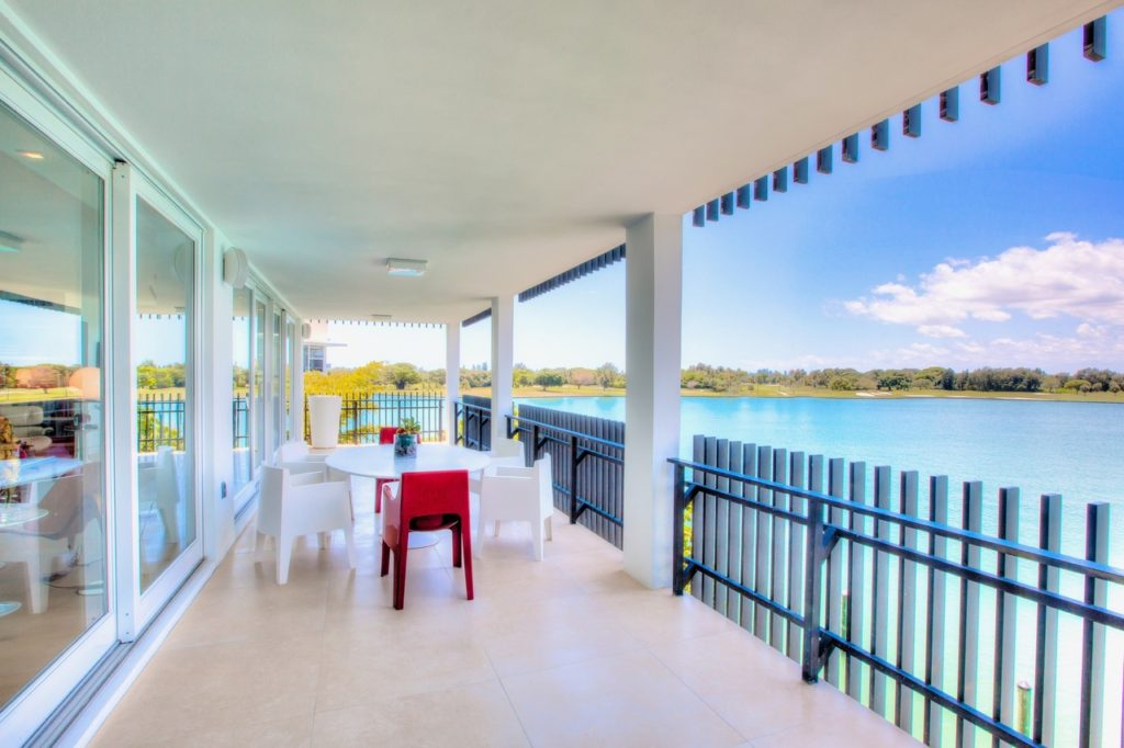 Balcony | Bay Harbor Islands Art Collectors | Kevin Gray Design