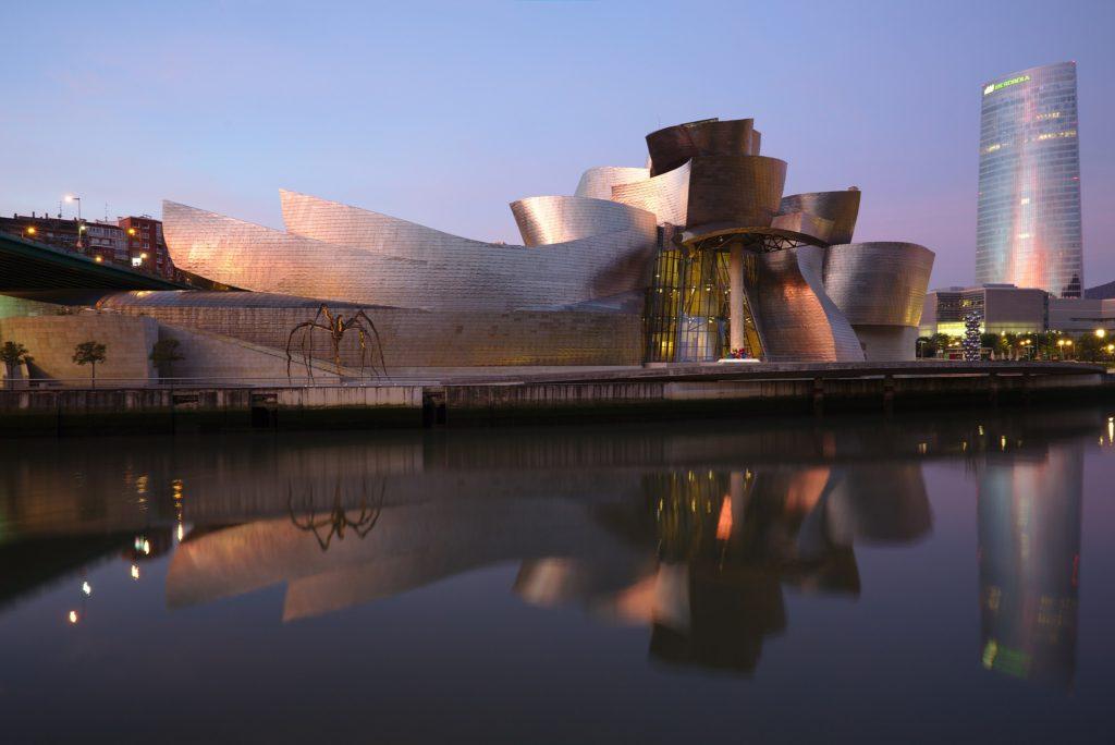 Postmodernism: Guggenheim Bilboa by Frank Gehry