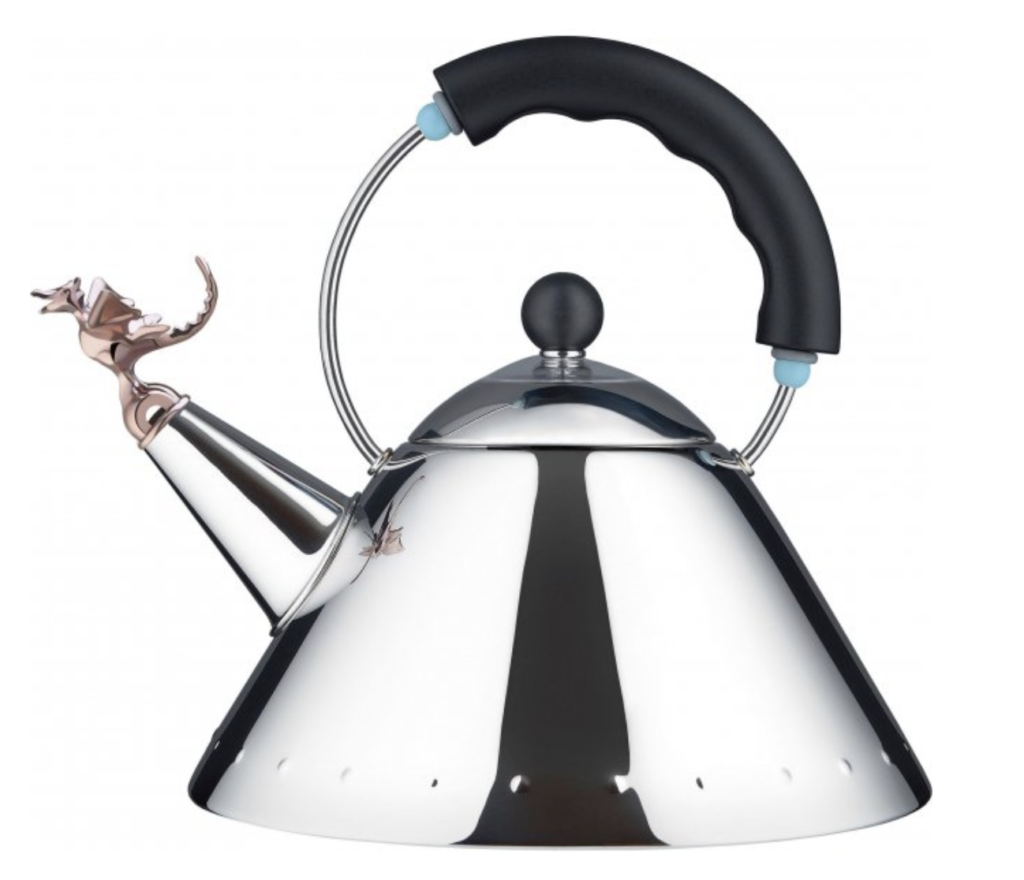 Postmodern design: MICHAEL GRAVES / TEA REX / ALESSI
