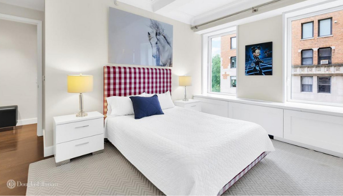 Guest Room 1212 Fifth Avenue NYC Styled by Kevin Gray Design