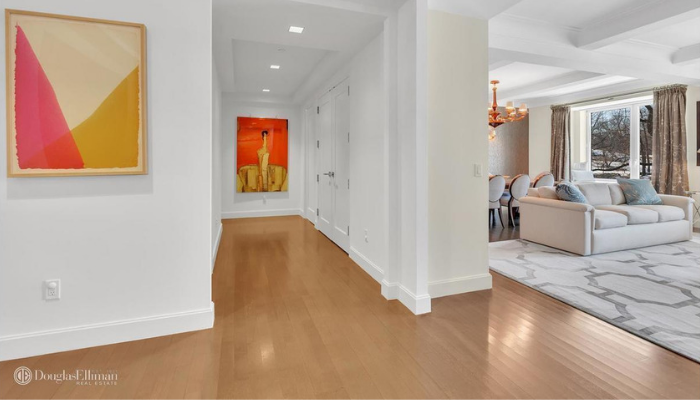 Hallway 1212 Fifth Avenue NYC Styled by Kevin Gray Design