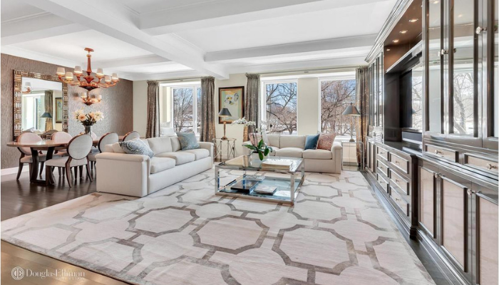 Living Room 1212 Fifth Avenue NYC Styled by Kevin Gray Design
