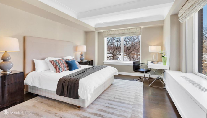 Master Bedroom 1212 Fifth Avenue NYC Styled by Kevin Gray Design