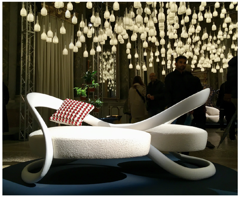 Andre Fu, Ribbon Dance | Milan Design Week | Kevin Gray Design