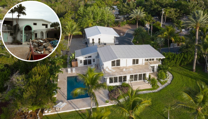 BEFORE & AFTER: Tavernier Key Home Restored by Kevin Gray Design Featured on SoFlo Home | Interior Designer Kevin Gray