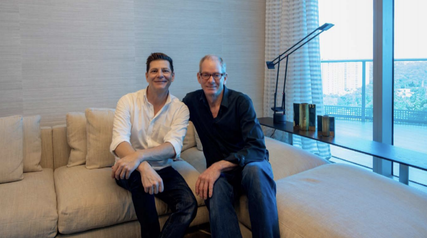 Interior Designer Kevin Gray with Shawn Clark, Lead Designer at Kevin Gray Design