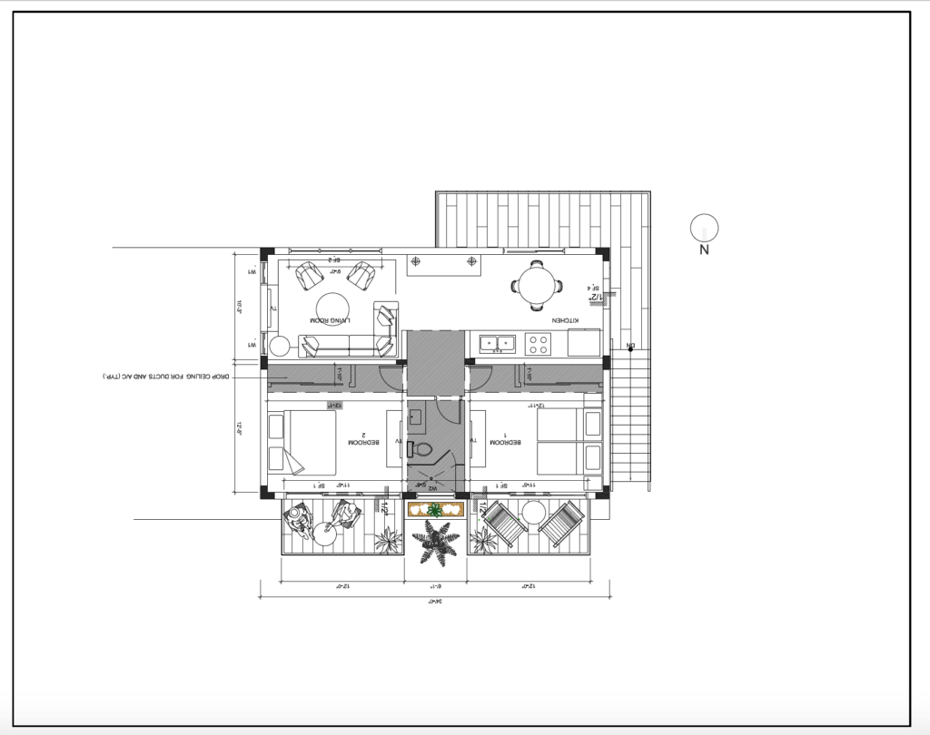 Design Plans: Tavernier Key Guest House Designed by Kevin Gray Design