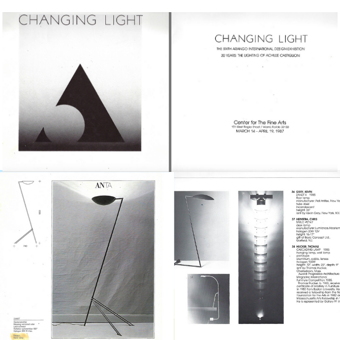 Kevin Gray and the Zandt Lamp: Changing Light Exhibition