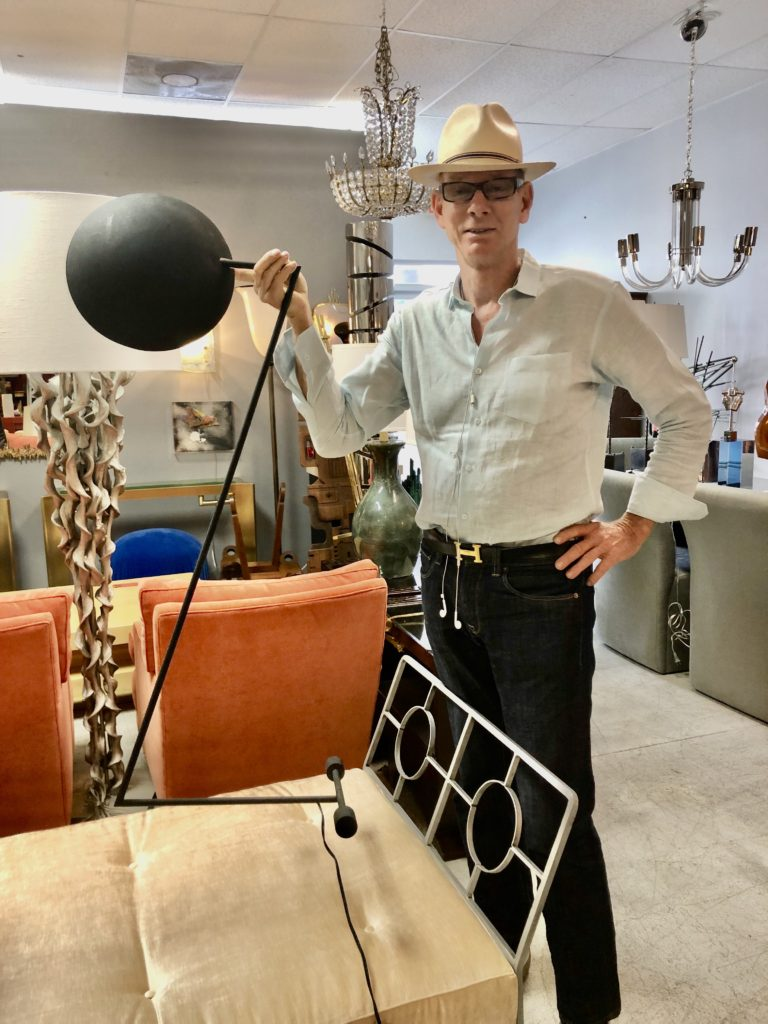Kevin Gray and the Zandt Lamp