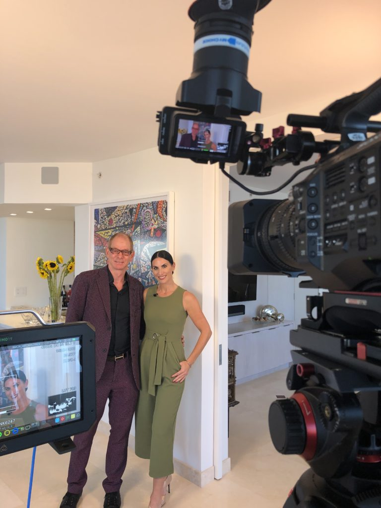 with host Alena Capra: Behind The Scenes: Kevin Gray Design Gut and Rebuild Featured on SoFlo Home